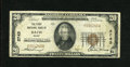 National Bank Notes:Maine, Bath, ME - $20 1929 Ty. 1 The First NB Ch. # 2743. This is apleasing, bright example of this Sagadahoc county bank that...