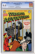 Golden Age (1938-1955):Science Fiction, Strange Adventures #8 (DC, 1951) CGC VF 8.0 Off-white to whitepages....
