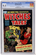Golden Age (1938-1955):Horror, Witches Tales #6 File Copy (Harvey, 1951) CGC VF+ 8.5 Cream tooff-white pages....