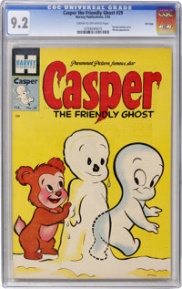 Casper the Friendly Ghost #29 File Copy (Harvey, 1955) CGC NM- 9.2 Cream to off-white pages