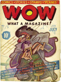 Platinum Age (1897-1937):Miscellaneous, Wow Comics #1 (Henle, 1936) Condition: GD....