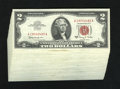 Small Size:Legal Tender Notes, Fr. 1514 $2 1963A Legal Tender Notes. 47 Examples Crisp Uncirculated.. Many consecutive runs are noticed in this lot. Most o... (Total: 47 notes)