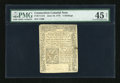 Colonial Notes:Connecticut, Connecticut June 19, 1776 5s PMG Choice Extremely Fine 45 Net....