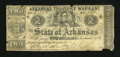 Obsoletes By State:Arkansas, (Little Rock,) AR- State of Arkansas $2 Feb. 20, 1862 Criswell 40. ...