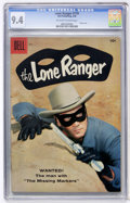 Silver Age (1956-1969):Western, Lone Ranger #119 (Dell, 1958) CGC NM 9.4 Off-white to whitepages....