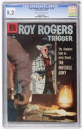 Silver Age (1956-1969):Western, Roy Rogers & Trigger #115 (Dell, 1957) CGC NM- 9.2 Cream to off-white pages....