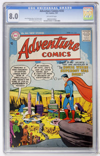 Adventure Comics #232 (DC, 1957) CGC VF 8.0 Off-white pages