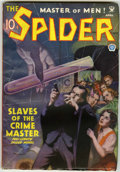 Pulps:Hero, The Spider Group (Popular, 1935) Condition: VG unless otherwise stated.... (Total: 12 Comic Books)