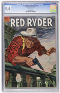 Silver Age (1956-1969):Western, Red Ryder Comics #136 (Dell, 1954) CGC NM 9.4 Off-white pages....