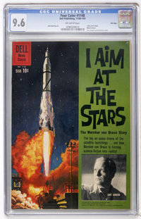 Four Color #1148 I Aim at the Stars - File Copy (Dell, 1960) CGC NM+ 9.6 Off-white pages
