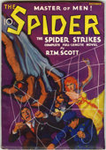 Pulps:Detective, The Spider #1 (Popular, 1933) Condition: VG/FN....