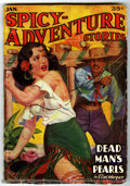 Pulps:Adventure, Spicy Adventure Stories Robert E. Howard Group (Culture, 1936-42) Condition: Average GD/VG.... (Total: 6 Comic Books)