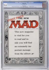 Mad #24 (EC, 1955) CGC NM+ 9.6 Off-white pages