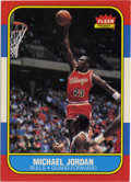 Basketball Cards:Singles (1980-Now), 1986-87 Fleer Basketball Michael Jordan #57. Who doesn't want to get their hands on the '86 Fleer Michael Jordan? This cove...