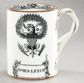 Political:3D & Other Display (pre-1896), Patriotic Eagle: Lovely Liverpool Style Mug....