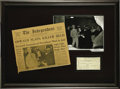 Autographs:Celebrities, Lee Harvey Oswald Signed Document....