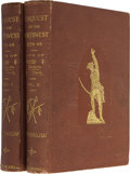 Books:First Editions, William H. English. Conquest of the Country Northwest of theRiver Ohio, 1778-1783 and Life of Gen. George Rogers Clark...(Total: 2 Items)