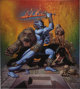 "Richard Corben - ""Island of the Lizard King"" Paperback Cover Painting Original Art (Dell, 1985).... (Total: 3..."