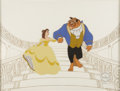"animation art:Limited Edition Cel, ""Beauty and the Beast"" Limited Edition Serigraph Cel (Walt Disney,circa 1991)...."