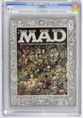 Magazines:Mad, Mad #27 (EC, 1956) CGC NM- 9.2 Cream to off-white pages....
