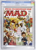 Magazines:Mad, Mad #35 Gaines File Copy (EC, 1957) CGC NM+ 9.6 Off-white to white pages....