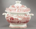 Political:3D & Other Display (pre-1896), William Henry Harrison: Lidded Sugar Bowl Issued for the 1840 Campaign....