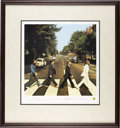 "Music Memorabilia:Photos, Beatles Limited Edition ""Abbey Road"" Lithograph. Print derived fromartwork used on the Beatles' Abbey Road LP, with eac...(Total: 1 Item)"