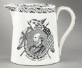 Political:3D & Other Display (pre-1896), James A Garfield: Attractive 1881 Memorial Ceramic Mug....