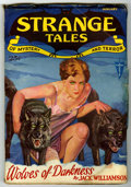 Pulps:Horror, Strange Tales Group (Clayton, 1931-33) Condition: Average VG.... (Total: 7 Comic Books)