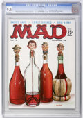 Magazines:Mad, Mad #42 Gaines File Copy (EC, 1958) CGC NM 9.4 Off-white to whitepages....