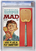 Magazines:Mad, Mad #57 Gaines File Copy (EC, 1960) CGC NM+ 9.6 White pages....