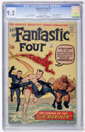 Silver Age (1956-1969):Superhero, Fantastic Four #4 (Marvel, 1962) CGC NM- 9.2 Off-white pages....