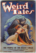 "Pulps:Horror, Weird Tales ""People of the Black Circle"" Group (Popular Fiction,1934) Condition: FN unless otherwise stated.... (Total: 3 ComicBooks)"