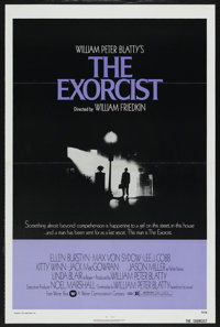 "The Exorcist (Warner Brothers, 1973). One Sheet (27"" X 41""). Horror"