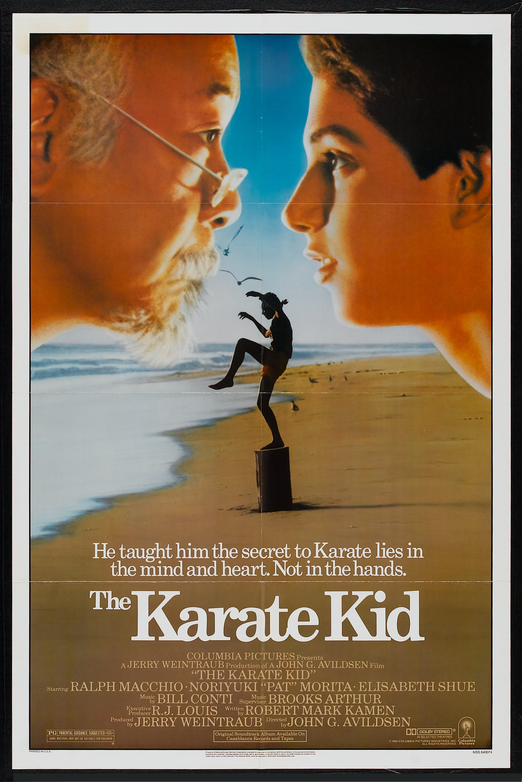 Image result for karate kid theatrical poster