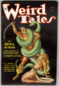 Pulps:Horror, Weird Tales August 1934 (Popular Fiction, 1934) Condition: FN....