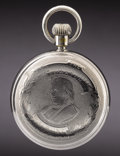 Political:Advertising, Horace Greeley: Rare Portrait Pocket Watch....
