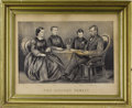 Political:Posters & Broadsides (pre-1896), Abraham Lincoln: Lithographed Print by Currier...