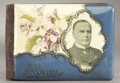Political:3D & Other Display (1896-present), William McKinley: Small Album with Portrait in Celluloid....