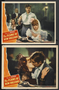 "The Flame of New Orleans (Universal, 1941). Lobby Cards (2) (11"" X 14""). Romance"