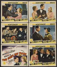 """The First 100 Years (MGM, 1938). Title Lobby Card and Lobby Cards (5) (11"""" X 14""""). Comedy.... (Total: 6 Items)"""