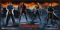 "Daredevil (20th Century Fox, 2003). Promotional Poster (13.5"" X 27"") SS. Action"