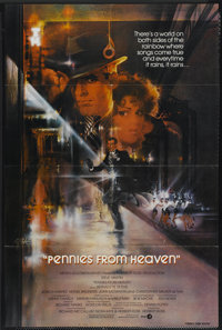 "Pennies from Heaven (MGM, 1981). One Sheet (27"" X 41""). Comedy"