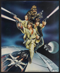 Star Wars (20th Century Fox, 1977). Promotional Posters (5) (Various). Science Fiction.... (Total: 5 Item)
