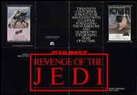 Revenge of the Jedi (20th Century Fox, 1982). Promotional Booklet (Multiple Pages). Science Fiction