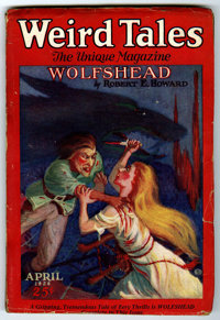 Weird Tales February 1926 (Popular Fiction, 1926) Condition: VG