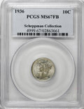 1936 10C MS67 Full Bands PCGS....(PCGS# 4999)