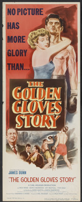 "The Golden Gloves Story (Eagle Lion, 1950). Insert (14"" X 36""). Sports"