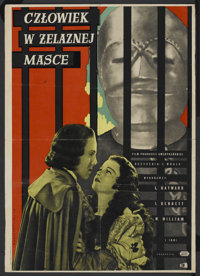 "The Man in the Iron Mask (United Artists, 1939). Polish One Sheet (24"" X 34""). Adventure"