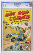 Golden Age (1938-1955):Miscellaneous, Hot Rod Comics #6 Crowley Copy pedigree (Fawcett, 1952) CGC NM+ 9.6 Off-white to white pages....